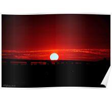 Anniversary Sunset Poster