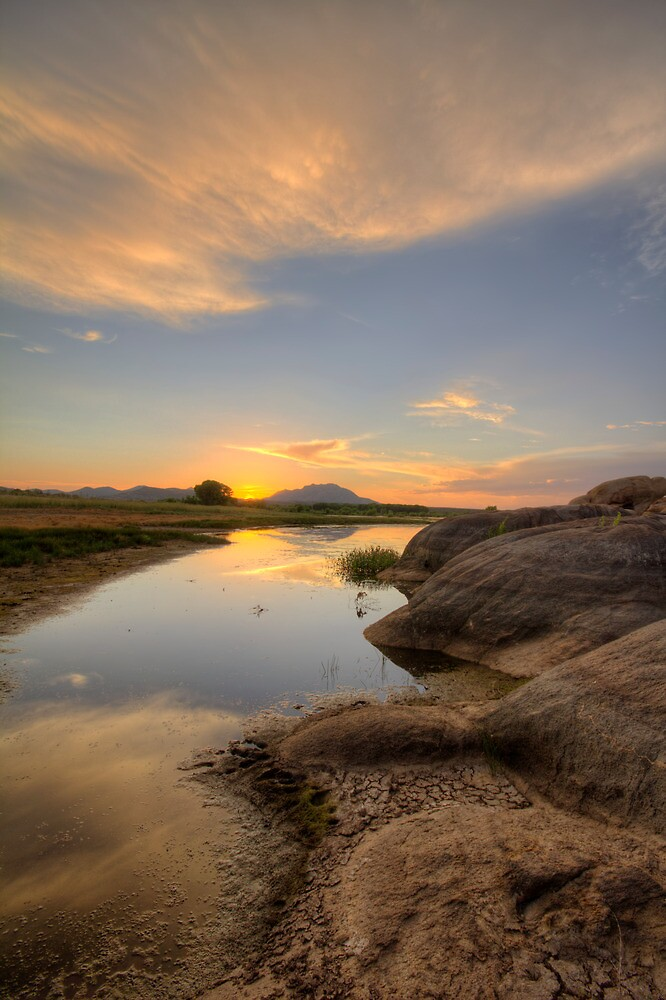 Sunset Bumps by Bob Larson