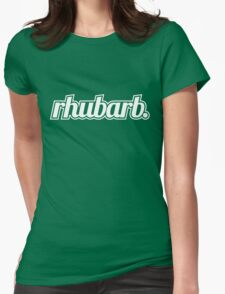 Rhubarb Womens Fitted T-Shirt