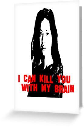 Kill You With My Brain by CheezyStudios