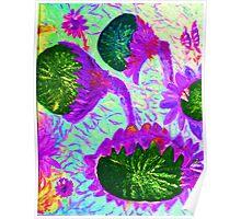 Sunflower Digital 3 Poster