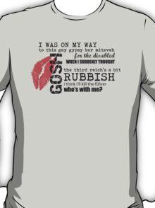 River Song - Gypsy Bar Mitzvah T-Shirt