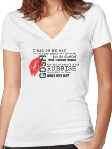 River Song - Gypsy Bar Mitzvah Women's Fitted V-Neck T-Shirt