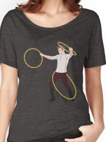 Mamma Mia, Triple Hoop Action Women's Relaxed Fit T-Shirt