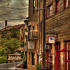 Stormy Street Of Jerome by Diana Graves Photography