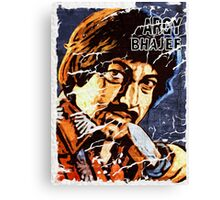 Argy bargy Canvas Print