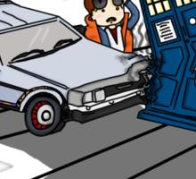 Doctor Meets Doctor Sticker