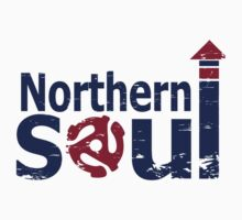 Weathered  Retro look northern Soul by Auslandesign