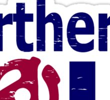 Weathered  Retro look northern Soul Sticker