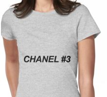 Chanel no 3 Womens Fitted T-Shirt