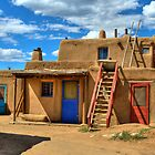 """Doors Of Taos Pueblo"" by Diana Graves Photography"