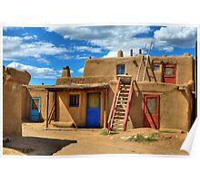 """""""Doors Of Taos Pueblo"""" Poster"""