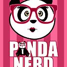 Panda Nerd Girl by Adamzworld