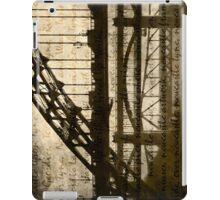 Newcastle Keywords iPad Case/Skin