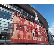 Arsenal FC, Emirates Stadium, London Photographic Print