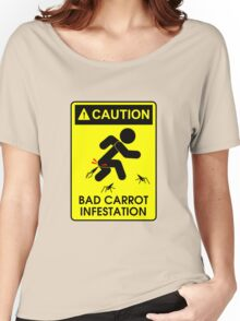 Caution: Bad Carrots! Women's Relaxed Fit T-Shirt
