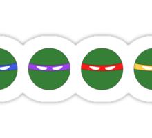 Minimal Turtles Sticker