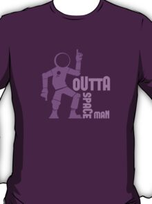 Funky Dancing Outta Spaceman Graphic T-Shirt