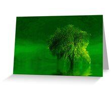 Terre verde'... Greeting Card
