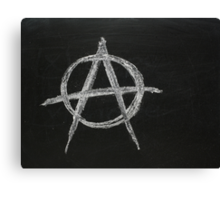 Anarchy in the Classroom Canvas Print