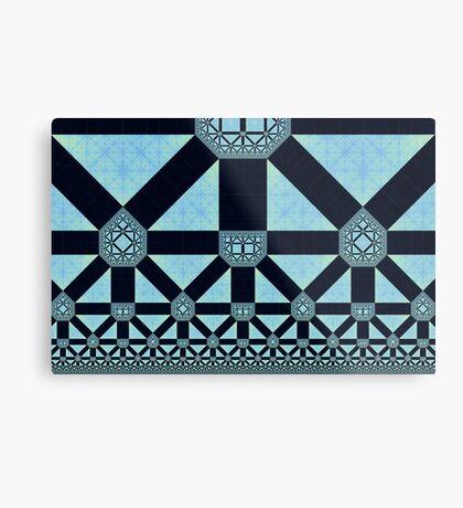 Patterns in Patterns Metal Print