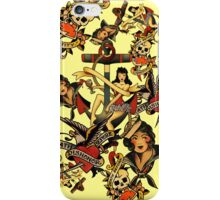 Traditional Tattoos iPhone Case/Skin