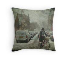 An ordinary woman Throw Pillow