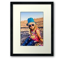 Don't Mess With Me Girl Framed Print