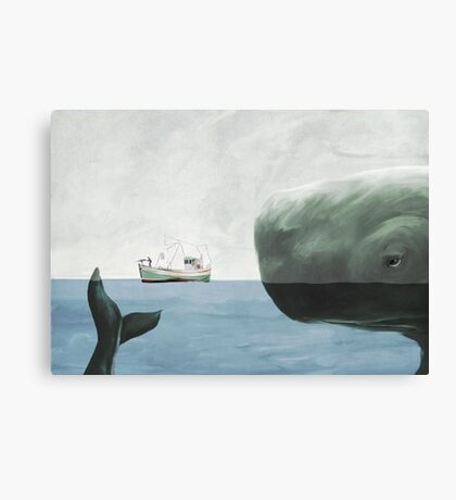 Just you try it! Canvas Print