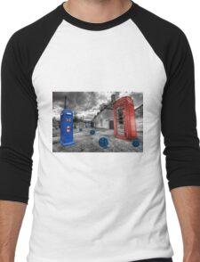 Revenge of the killer phone box  Men's Baseball ¾ T-Shirt