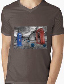 Revenge of the killer phone box  Mens V-Neck T-Shirt