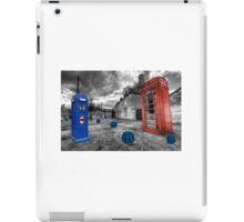 Revenge of the killer phone box  iPad Case/Skin