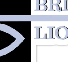 British Lion  Sticker