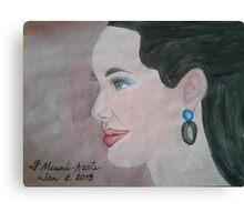 Angelina 08 Canvas Print