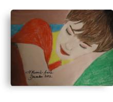 the sleep Canvas Print