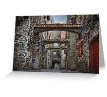 Old City Wall Greeting Card