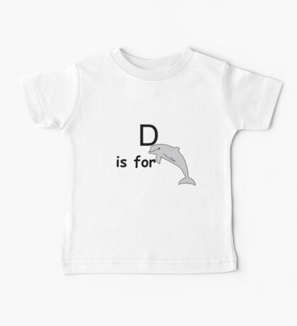 D is for ...V3 Baby Tee