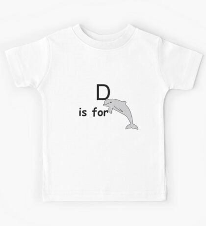 D is for ...V3 Kids Tee