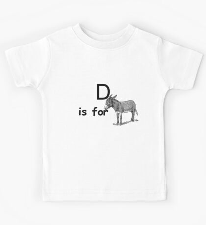 D is for ...V4 Kids Tee