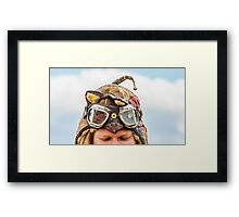 Have goggles - will travel Framed Print