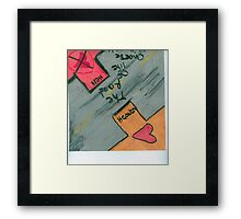 Choose  Framed Print