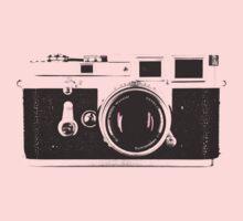 Vintage Camera Kids Tee