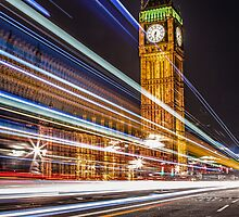 Big Ben and the Colors of the Night by cvbphoto