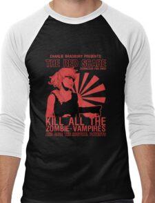 The Red Scare (1) Men's Baseball ¾ T-Shirt