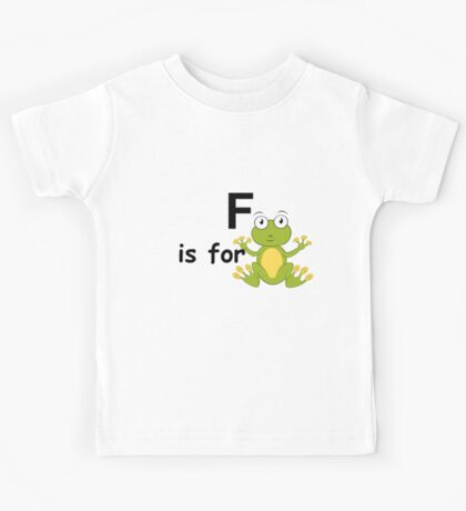 F is for ...V4 Kids Tee