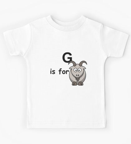 G is for ...V2 Kids Tee