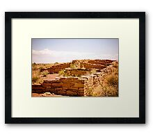 Tales of the Past Framed Print