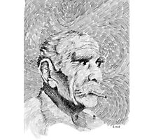 Fingerprint - Hombre - Black ink Photographic Print