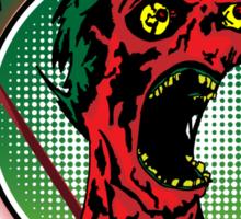 Zombie King Sticker