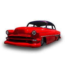 Ford - 1954 Coupe Photographic Print